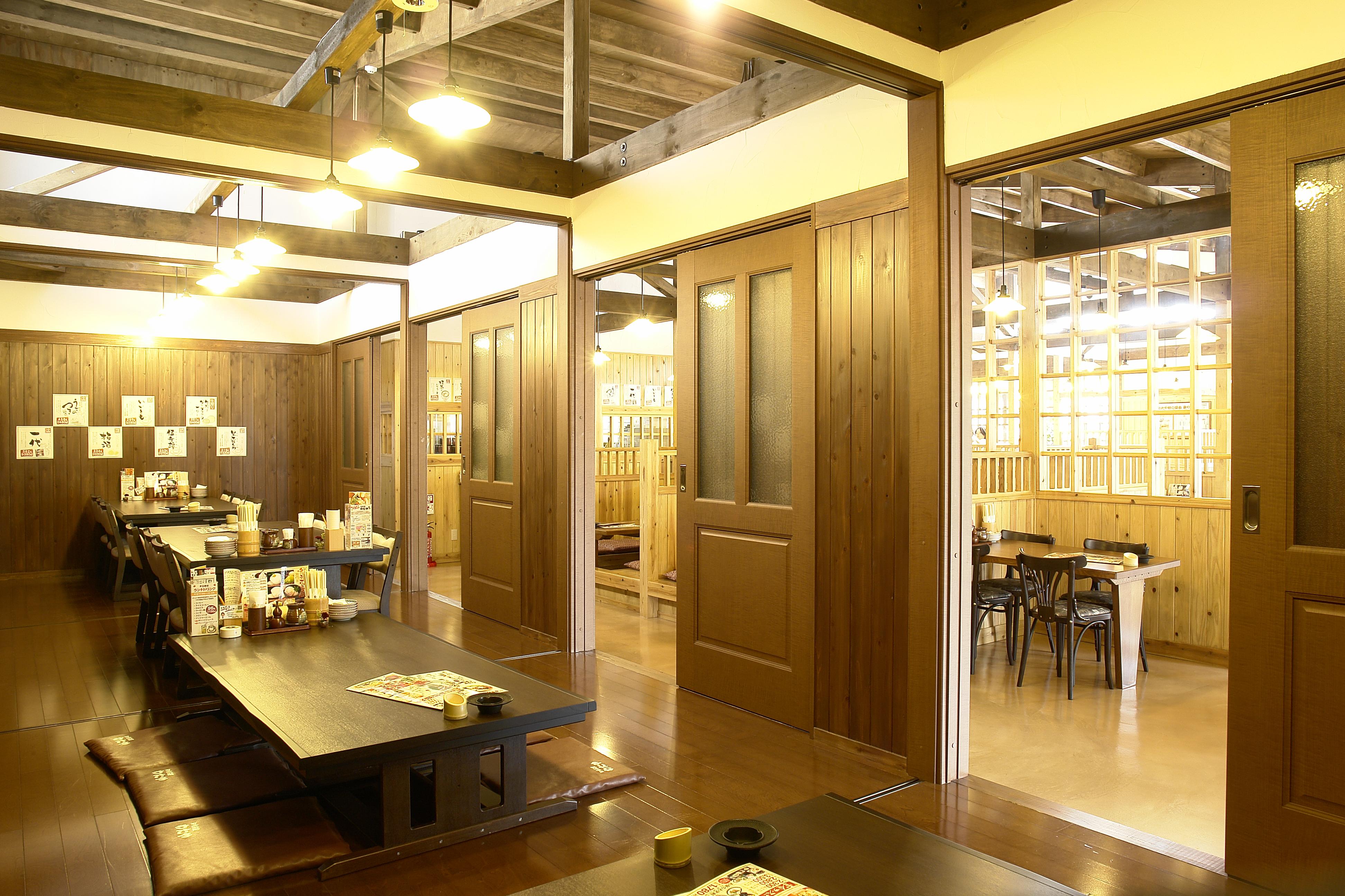 田舎茶屋わたや温品店個室画像