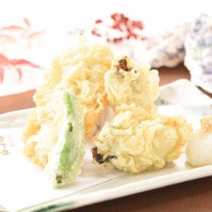 牡蠣と穴子の天ぷら