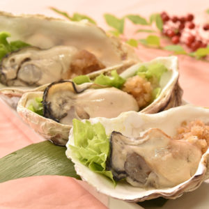 牡蠣の和風煮おろしポン酢