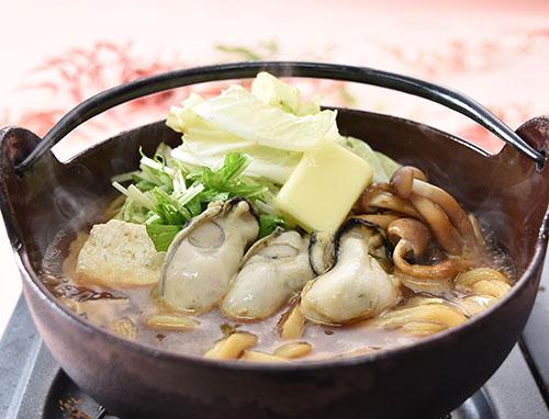 牡蠣鍋うどん