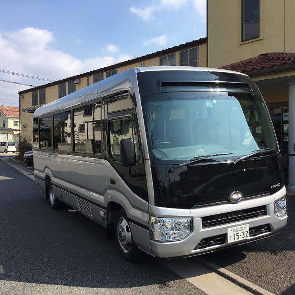 田舎茶屋わたや送迎バス