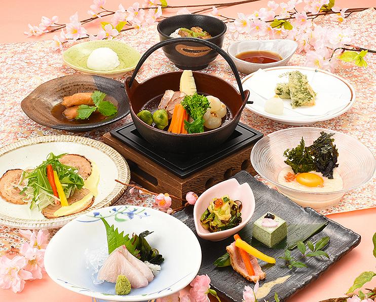 【田舎茶屋わたや】春の宴会コース料理3000円