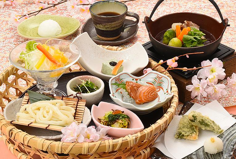 【田舎茶屋わたや】春のコース料理1700円