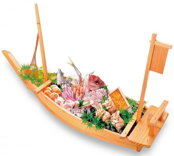 わたやごちそうデリカ刺身船盛り