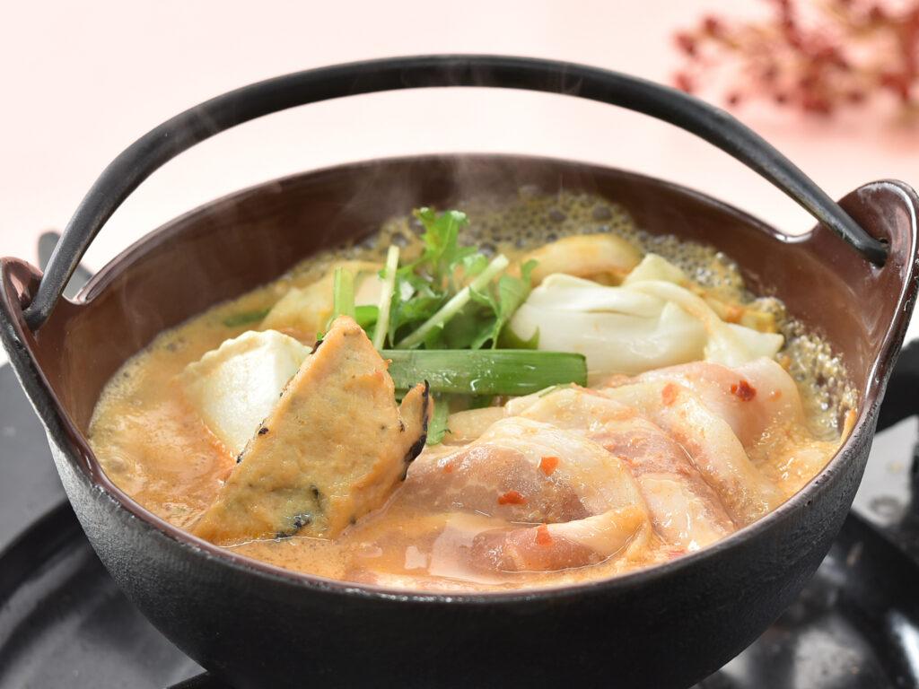豆乳チゲ小鍋